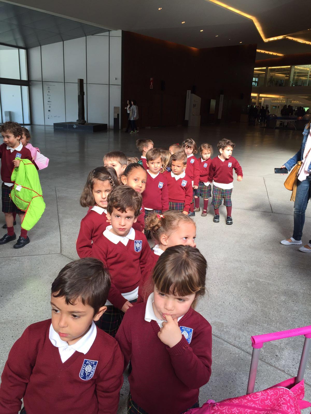 SALIDA AL PARQUE DE LAS CIENCIAS DE EDUCACIÓN INFANTIL